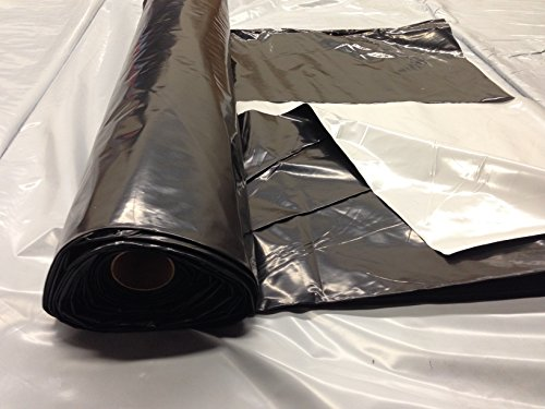 Black/White Silage Film 5mil 3ply 100' x 200' by Farm Plastic Supply (Image #1)