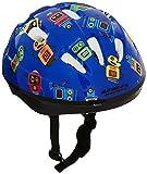 USA Helmet V-6 Toddler Bicycle Helmet, Blue with Robots