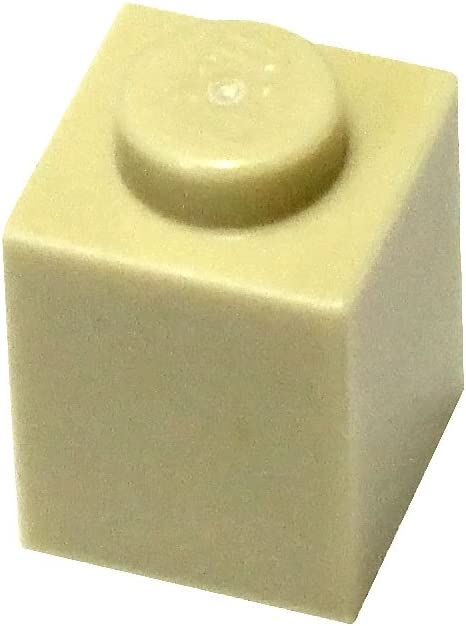 LEGO Parts and Pieces: Tan (Brick Yellow) 1x1 Brick x50