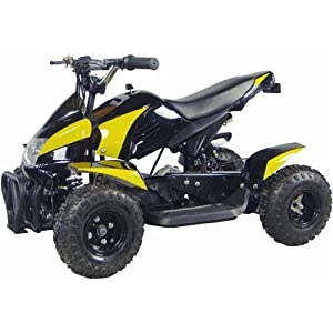 Go-Bowen-Gobi-Yellow-350W-Brush-Motor-Electric-ATV-Ride-on-Toys-Ages-6-8