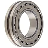 SKF 22211 E/C3 Explorer Spherical Roller Bearing, Straight Bore, Standard Tolerance, Steel Cage, C3 Clearance, Metric, 55mm Bore, 100mm OD, 25mm Width, 8500rpm Maximum Rotational Speed, 30800lbf Static Load Capacity, 30100lbf Dynamic Load Capacity