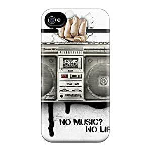 Forever Collectibles No Music No Life Hard Snap-on Iphone 6 Cases