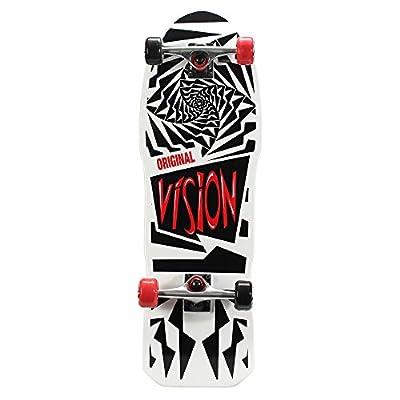 """Vision OG 31"""" Skateboard, Original White Graphic"""