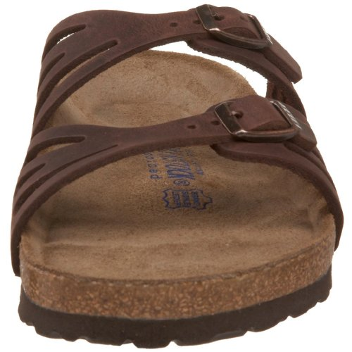 Birkenstock Women's Granada Soft Footbed Sandal,Habana Oiled Leather,38 M EU by Birkenstock (Image #4)