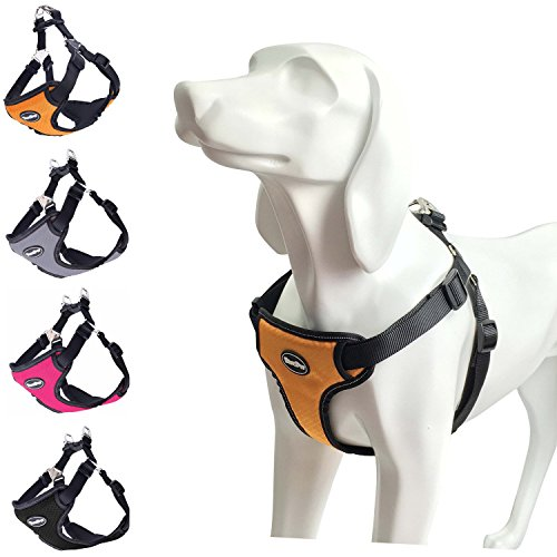 dog mesh harness large - 5