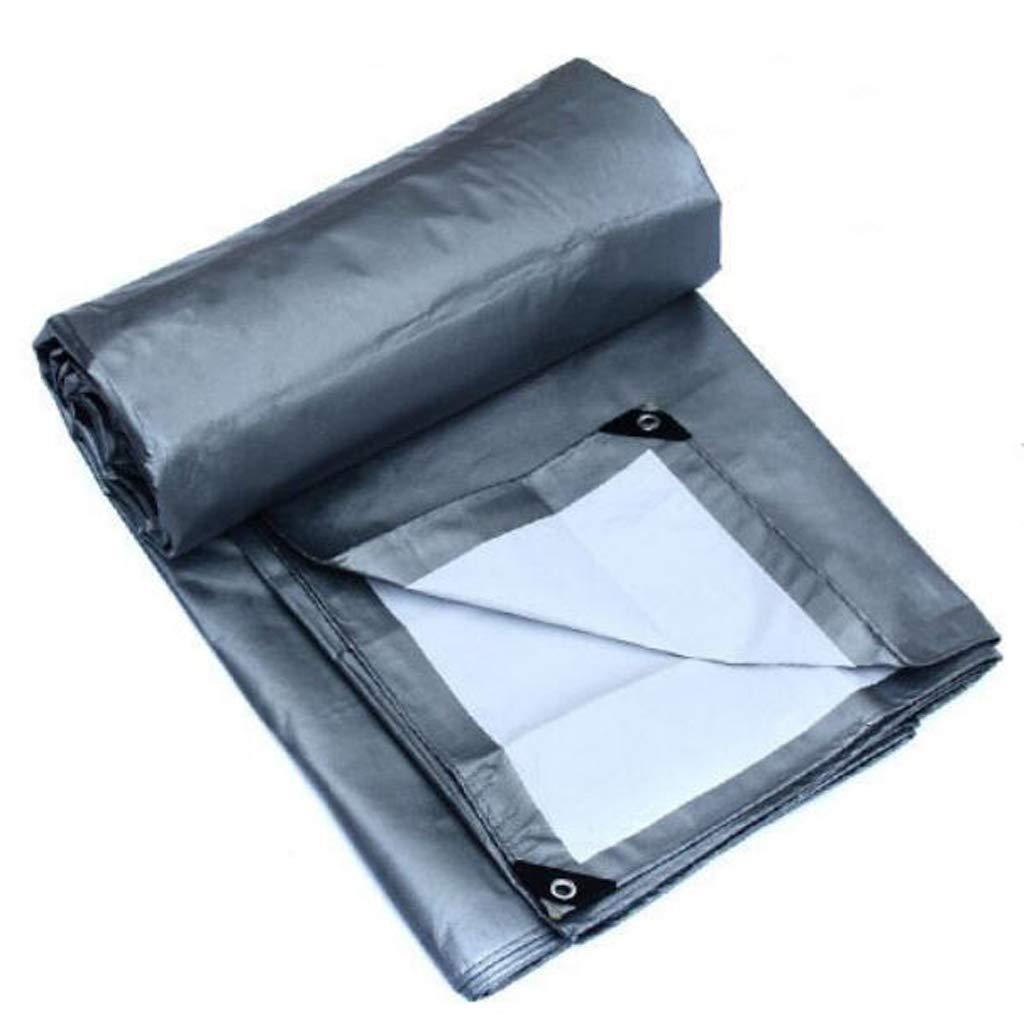 ASpb Thick and Practical Plastic Cloth Sunscreen Rain Cloth Tarpaulin Sunshade Cloth Outdoor Sunscreen Insulation Tarpaulin Padded Sail Tarpaulin Tarpaulin (Size : 6 5m) (Size : 64m) by ASpb