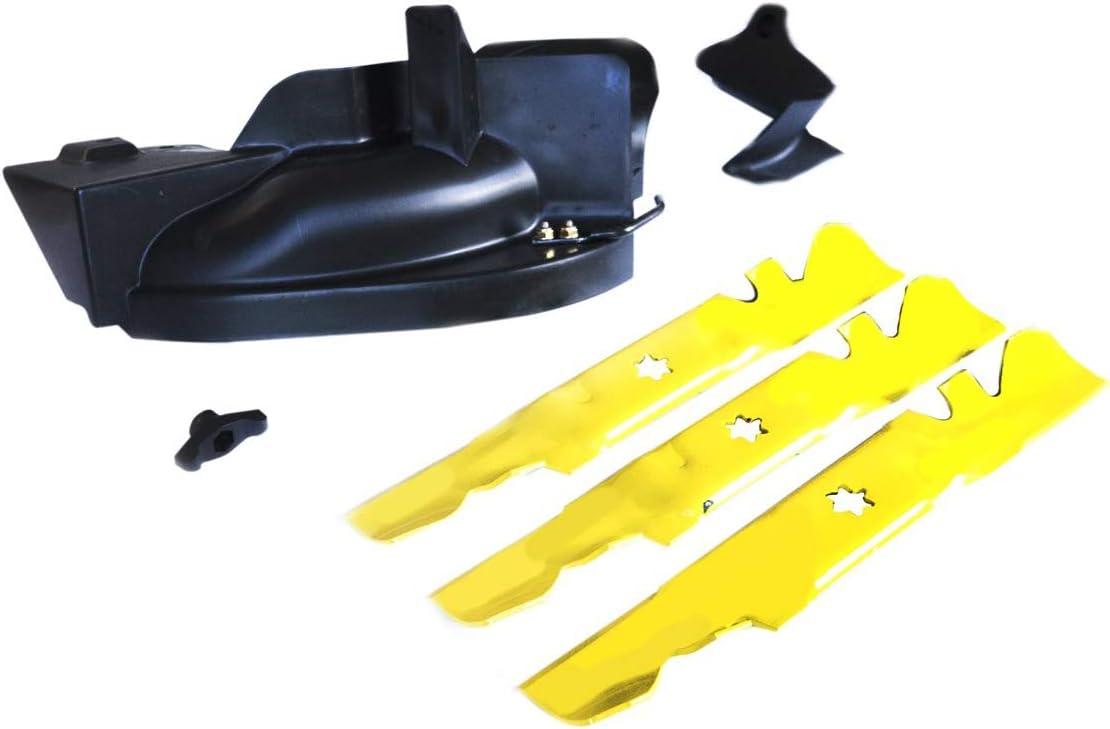 Arnold 19A30042OEM 54 Service Blade Lawn Mower Mulching Kit Yellow