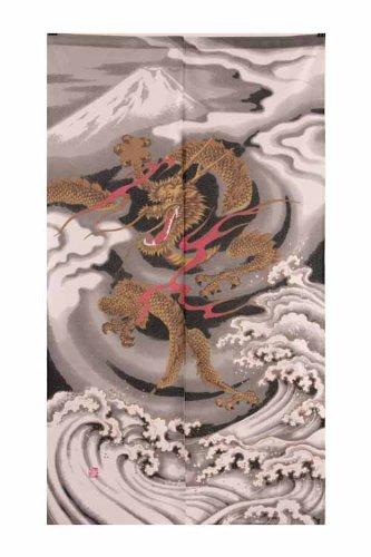 Noren Japanese Doorway Curtain Emperors Doragon 85x150cm