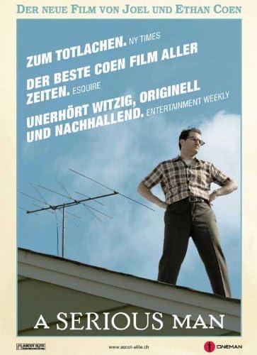 Un hombre serio Póster de película 27 x 40 - B suizo 69 cm x ...