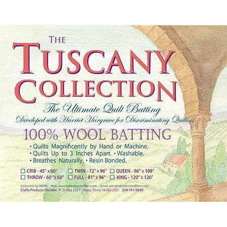 Hobbs TW120 Batting Tuscany Washable Wool, 120