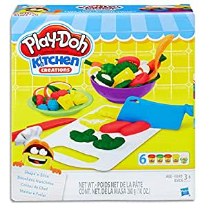 Play Doh - Kitchen Creations - Shape 'n Slice inc 6 Tubs & Accessories