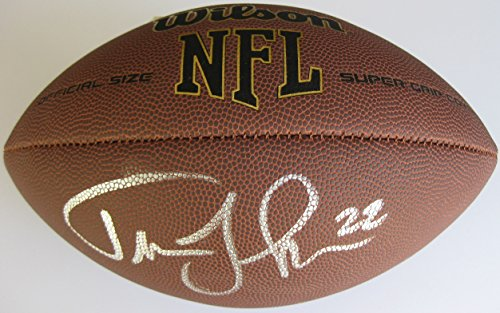 Johnson Autographed Nfl Football - Trumaine Johnson, New York Jets, Rams, signed, autographed, NFL Football, COA with the Proof Photo of Trumaine Signing Will Be Included