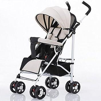 ZHZ-Bicicletas Carrito de bebé Ultra-Ligero portátil Puede ...