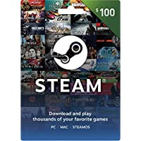 $100 Valve Steam Wallet Card