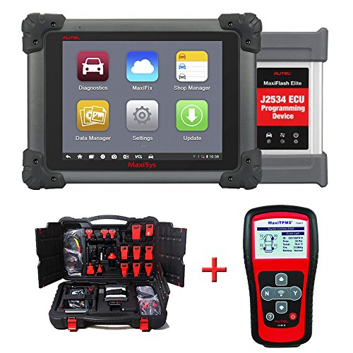 Autel Maxisys Pro MS908P Vehicle Diagnostics System With Free MaxiTPMS TS401 TPMS service tool by Autel