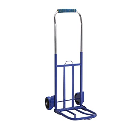 f9c73d97a401 Amazon.com : Hand truck Nationwel Fold Luggage Cart Van Two Rounds ...