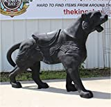 Life Size Carousel Lion Statue Sculpture Antique Style Replica Merry Go Round