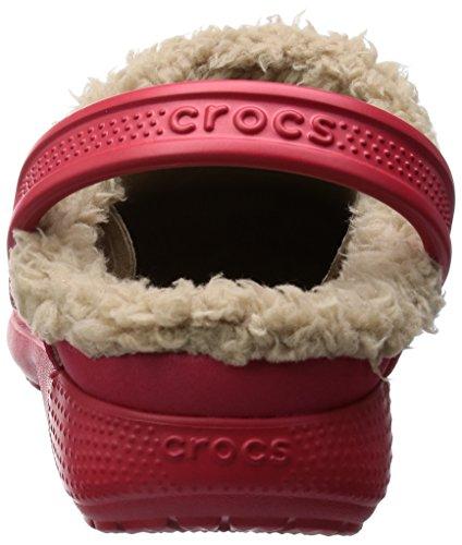 Zoccoli Sabot Hilo Unisex Rosso tumbleweed E Lined Crocs Kids pepper Clog Bambino 4YwnxI1dq