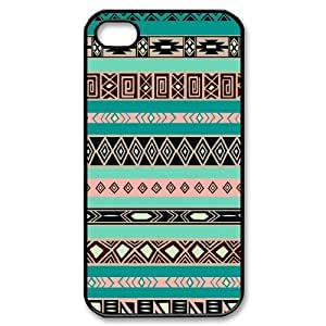 Master classics Diy Customized hard Case Aztec Tribal For Iphone 4/4s [Pattern-1]