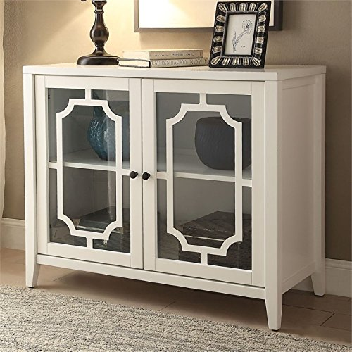 BOWERY HILL Accent Chest in White