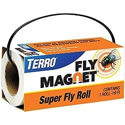 Terro T521 Super Fly Roll Magnet, White