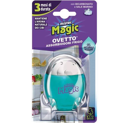 Mister Magic, koelkast, met bicarbonaat en zeezout, houdt het aroma van levensmiddelen veranderd, houdt tot 3 maanden