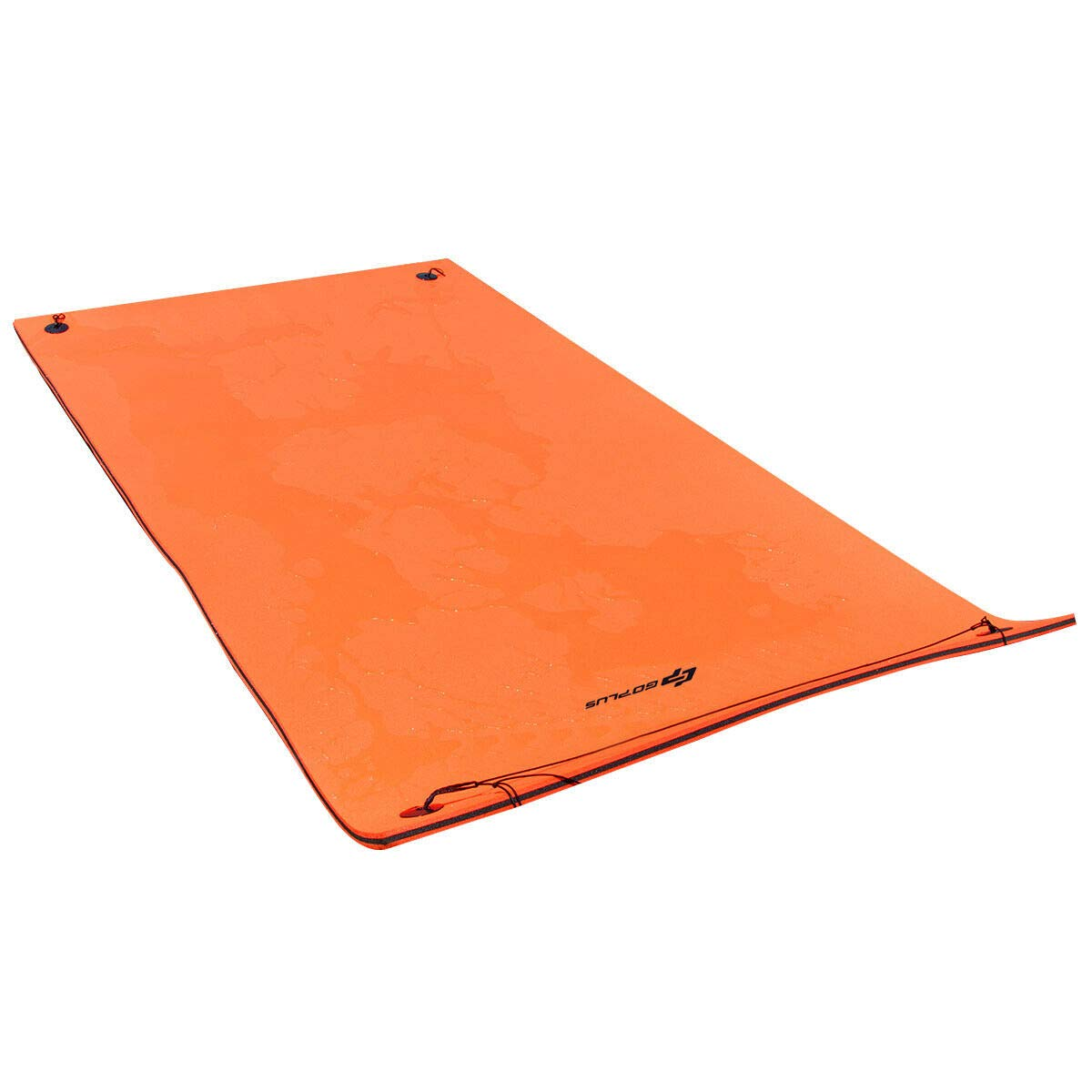 Goplus Floating Water Pad Mat for Lakes 3 Layer Floating Foam Fun Mat Aqua Pad with Tear-Stop Technology Designed for Water Recreation and Relaxing (12' x 6') by Goplus (Image #1)