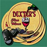 DEXTER'S Fine Wines Coasters - Set of 4