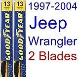 1997-2004 Jeep Wrangler Replacement Wiper Blade Set/Kit (Set of 2...