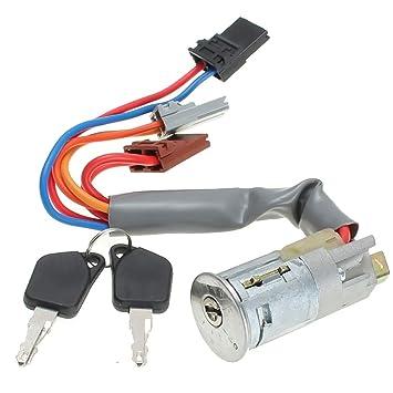 Fansport Ignition Lock Cylinder Metal Switch Cilindro De Bloqueo con Llaves 2PCS: Amazon.es: Deportes y aire libre