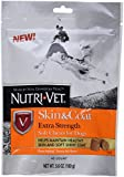 Nutri-Vet Skin & Coat Extra Strength Soft Chews for Dogs, 45-Count