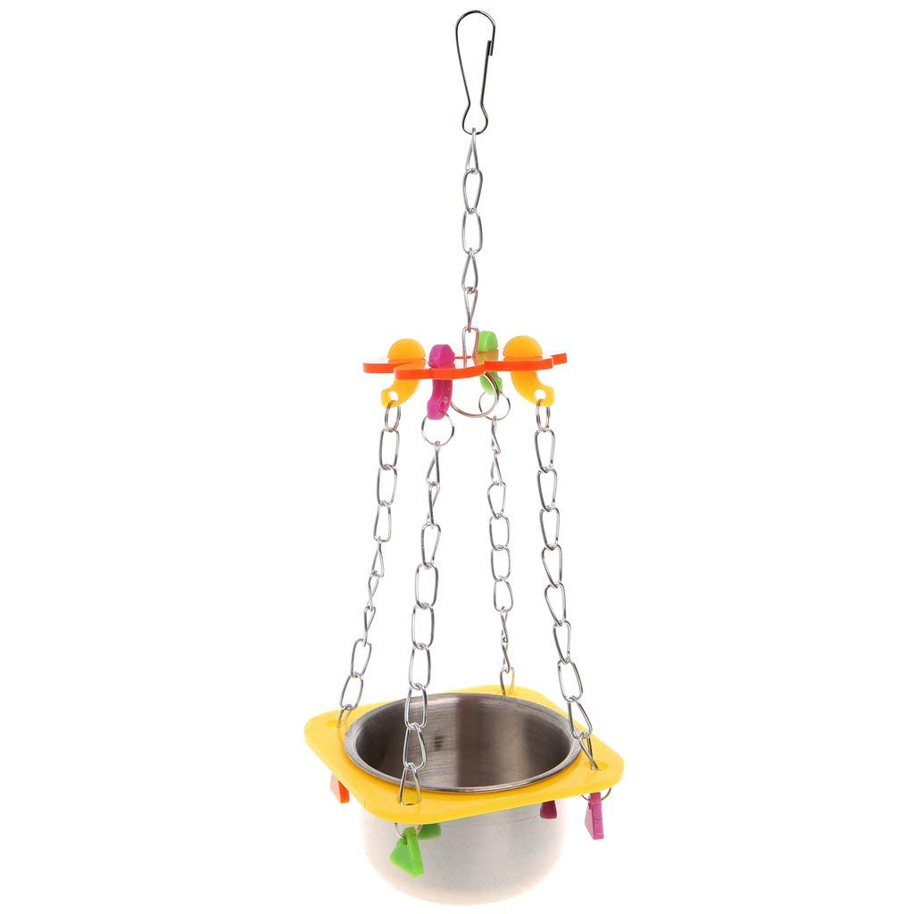 Pet Bird Parrots Swing Cage Toy Chewing Bite For Parakeet Cockatoo Conure Premium Quality by Yevison