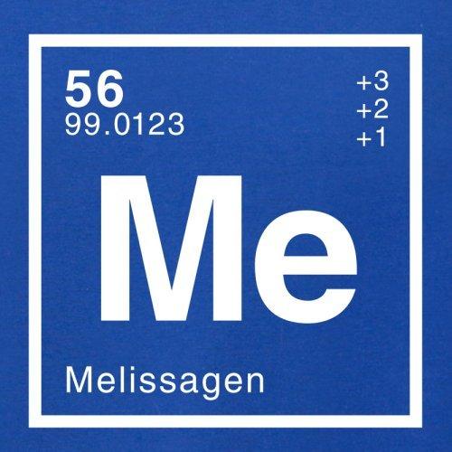 Melissa Periodensystem - Herren T-Shirt - Royalblau - M