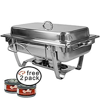 tigerchef Chafer calentadores, 8 quart, plata, 1: Amazon.es: Industria, empresas y ciencia