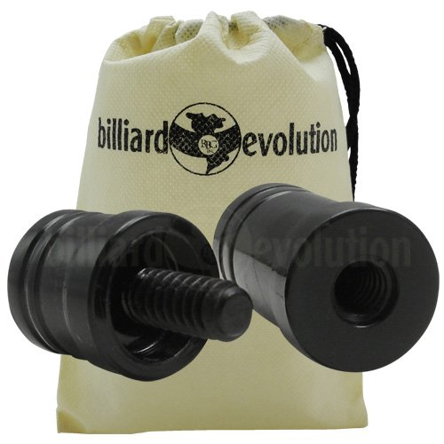 Billiard Evolution Pool Cue Joint Protectors 5/16-14 Drawstring Bag ()
