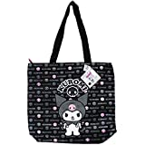 Black and Pink Kuromi Tote Bag - Large Tote Bag