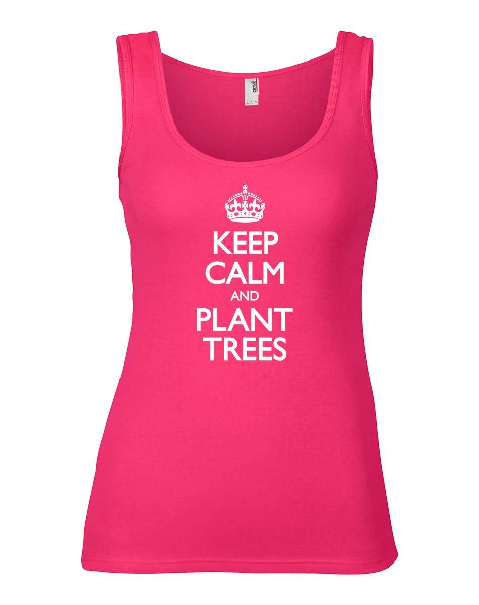 Shirtloco Keep Calm And Plant Trees Tank Top 6717 Shirts