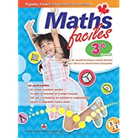 Popular French Immersion School Series: Maths faciles Grade 3: Canadian curriculum math workbook for Grade 3 French Immersion students
