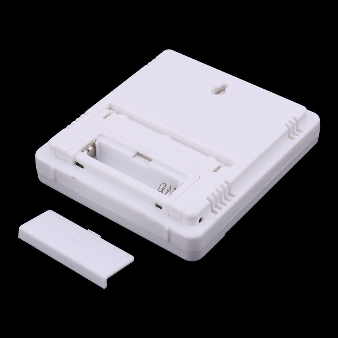 Amazon.com: eDealMax higrómetro de la humedad del reloj LCD cubierta al aire Libre termómetro Digital: Home & Kitchen
