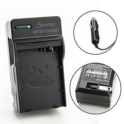 Silverlake Portable Wall & Car Rapid Charger for Canon LP-E8