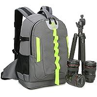 Abonnyc DRLBP-CG Waterproof Anti-shock Backpack for DSLR and SLR Cameras Case ,Grey