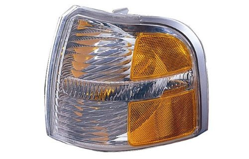 Aftermarket Replacement Left Driver Side LH Park Signal Side Marker Light for 2002-2004 Ford Explorer