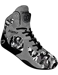 Grey/Camo Stingray Escape Bodybuilding Weightlifting MMA & Boxing Shoe