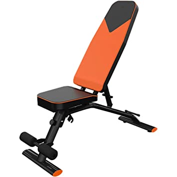 HECHEN Silla De Fitness con Mancuerna Taburete-Home Ajustable Multi-Función Sit-Up