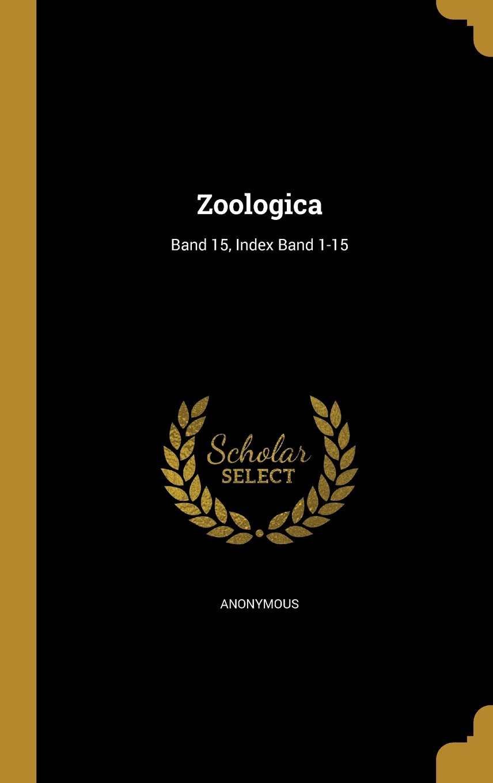 Download Zoologica; Band 15, Index Band 1-15 (German Edition) pdf epub