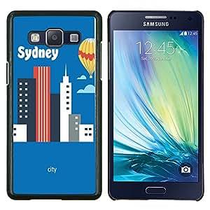 Dragon Case FOR Samsung Galaxy A5 A5000 A5009 - I like sydney - Caja protectora de pl??stico duro de la cubierta Dise?¡Ào Slim Fit