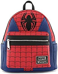f5fdbe9eb Loungefly: Marvel Spider-Man Faux Leather Mini Backpack Standard