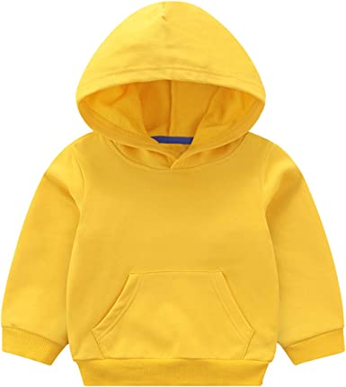 Baby Boy Girl Hoodie Tops Toddler Hooded Sweater Casual Hoodies with Pocket Outdoor Outfit