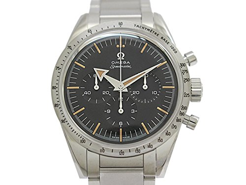 Omega Speedmaster 57 Chronograph The 1957 Trilogy SS Manual 38.6mm Black Dial Tachymetre Bezel SS Bracelet 311.10.39.30.01.001 (Certified Pre-Owned) (Tachymeter Chrono)