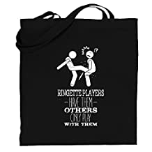 Ringette Players Have Them Others only Play with Them 2 Canvas Tote Bag